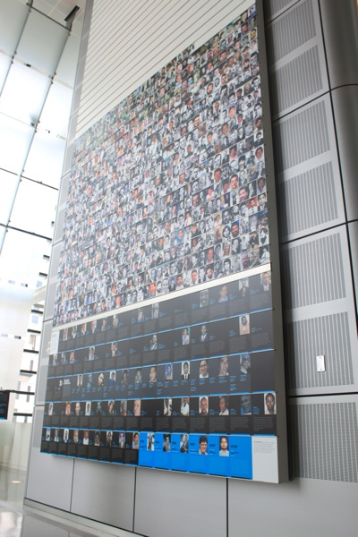 The Journalists Memorial at the Newseum, Washington DC